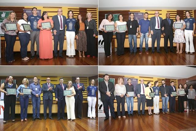Concurso 'Paz na Escola – Eu Curto!', do MP-GO, premia 12 escolas