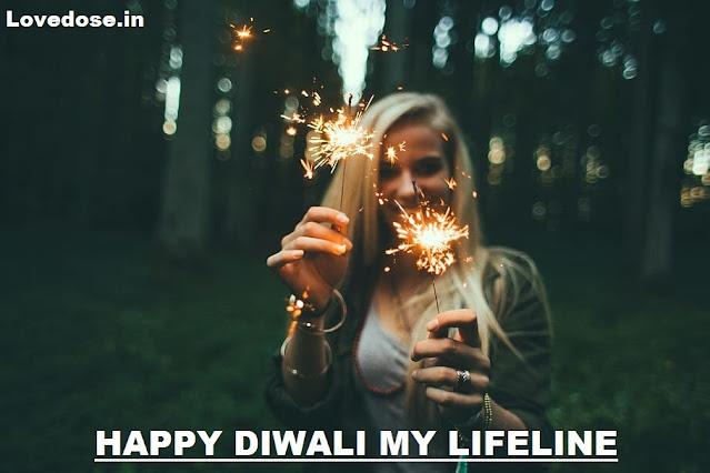 Dearest Girlfriend, I wish you a Happy Diwali with love
