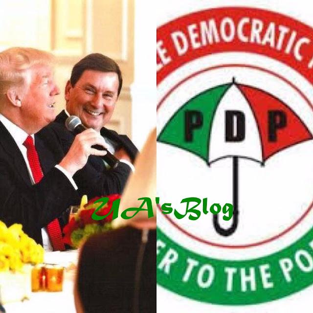 2019: PDP Hires Donald Trump's Presidential Campaign Strategist, Brian Ballard
