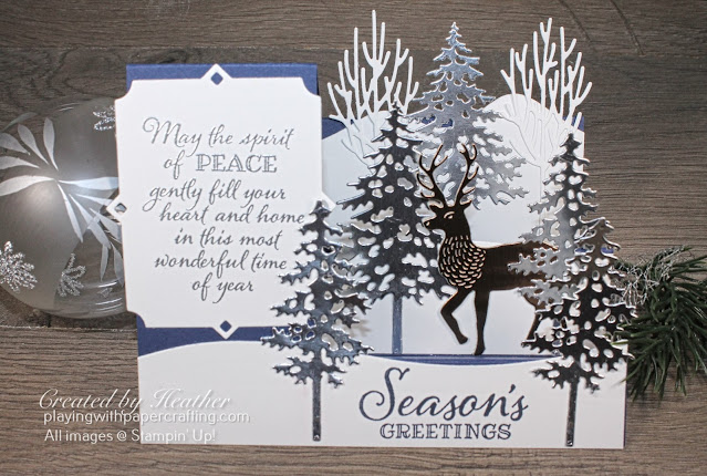 side step card with peaceful boughs 2