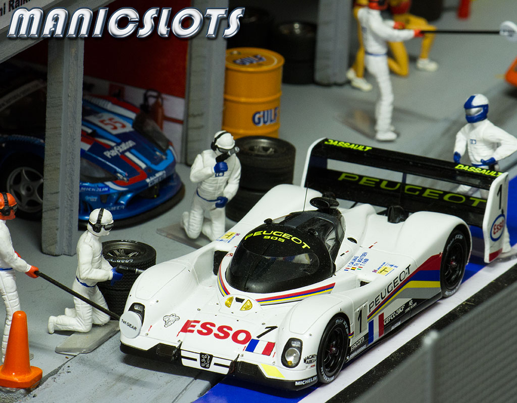 ManicSlots' slot cars and scenery: GALLERY: Le Mans