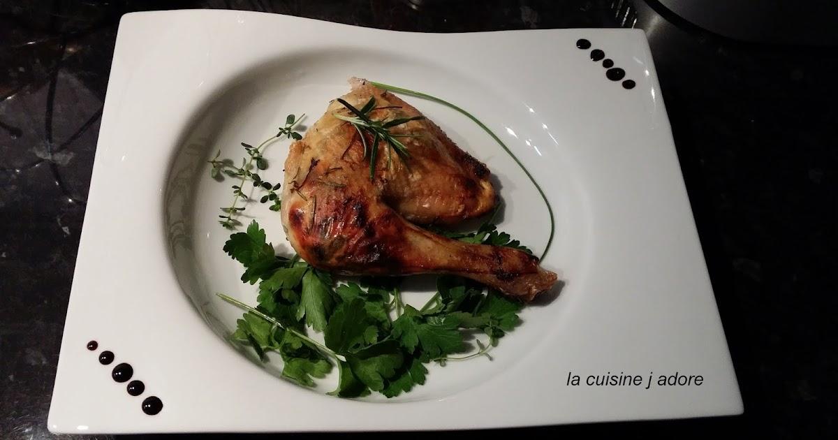 La cuisine j adore poulet r ti aux herbes recette for Academie cuisine