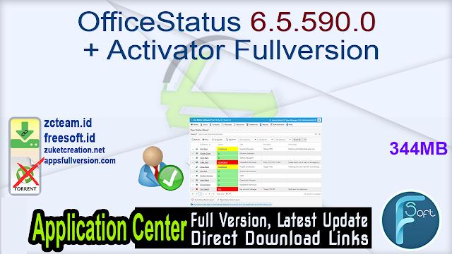 OfficeStatus 6.5.590.0 + Activator Fullversion