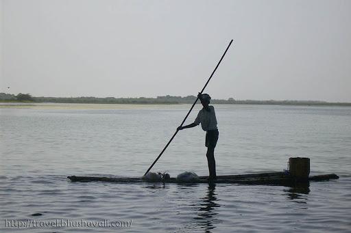 Fishermen in Pulicat Pazhaverkadu