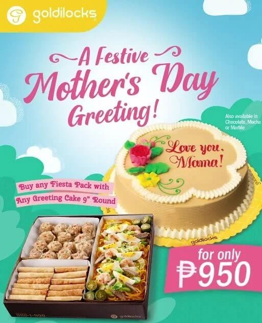 Indulge in Filipino Treats this Mother's Day with Goldilocks' Fiesta Pack