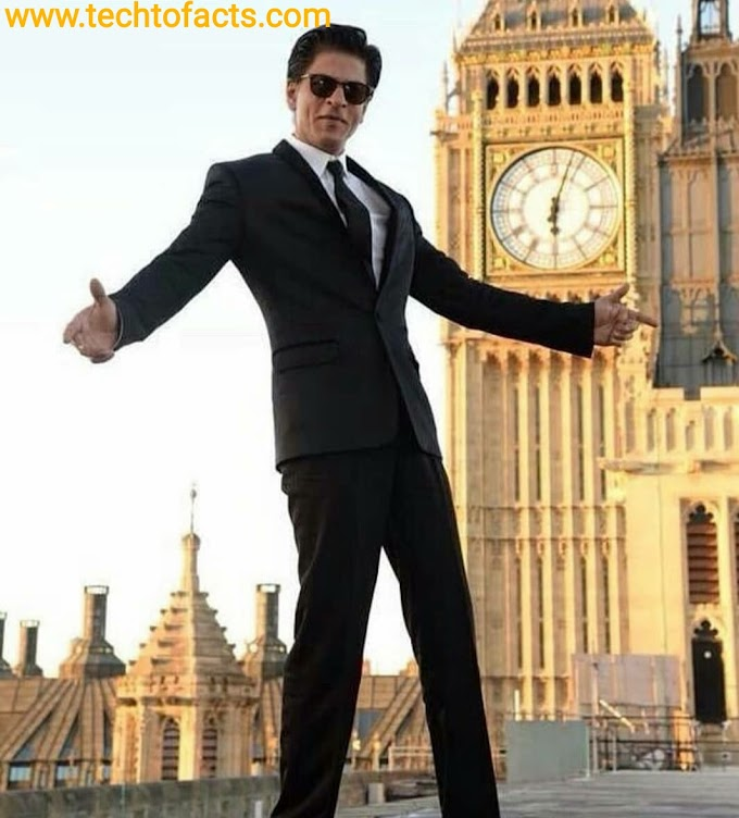 What is the monthly income of Shahrukh Khan?