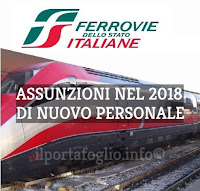 offerte di lavoro 2018 ferrovie dello stato