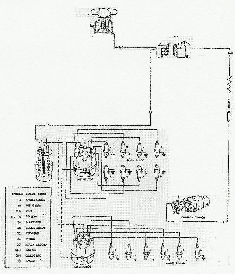 1965 Mustang Ignition Coil Wiring Diagram, 1965, Free