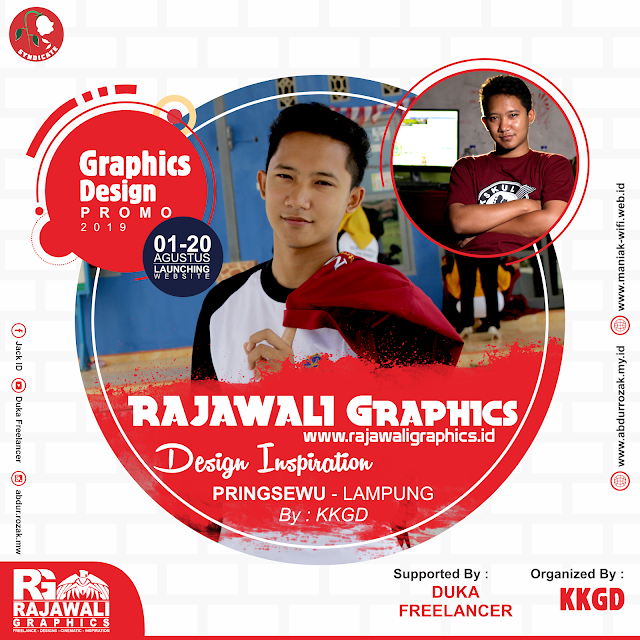 Promo Desain Grafis di Rajawali Graphics Indonesia