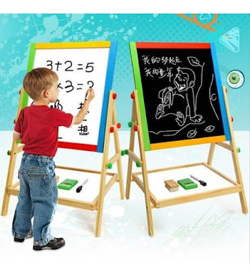 review wooden blackboard/whiteboard, wooden blackboard murah, wooden whiteboard murah,