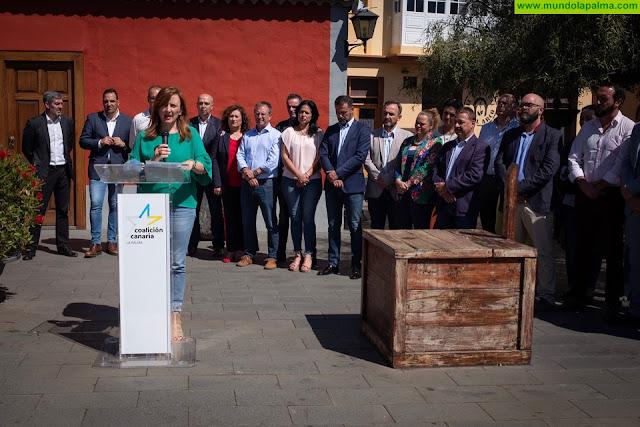 Fernando Clavijo y Nieves Lady  Barreto se comprometen a impulsar una estrategia específica de desarrollo turístico para La Palma