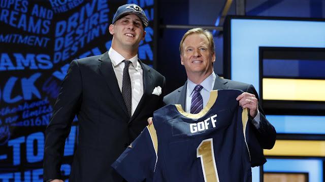 FÚTBOL AMERICANO - NFL Draft 2016: los quarterbacks Jared Goff y Carson Wentz mandaron en la primera ronda