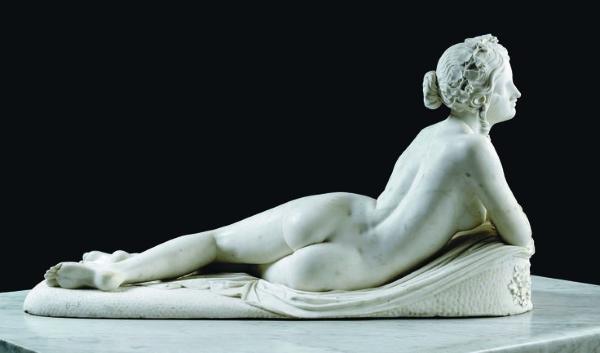 Lorenzo Bartolini - Отдыхающая менада