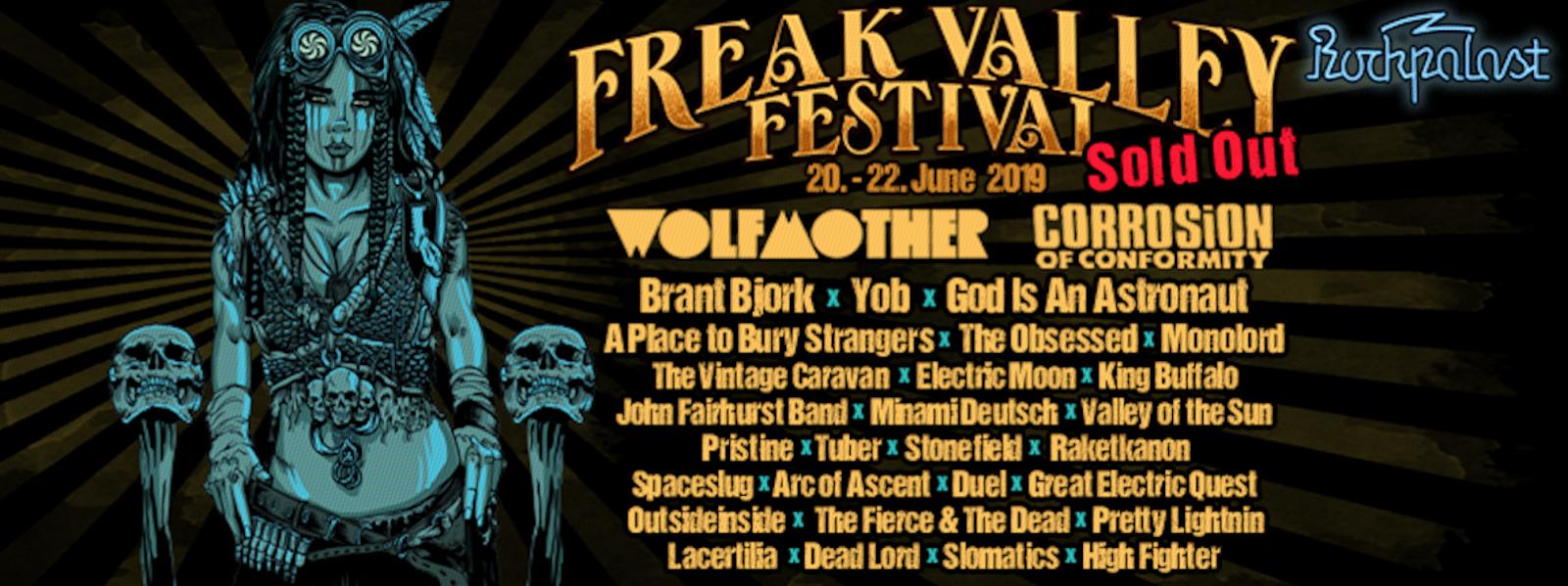 News] Freak Valley Festival 2019