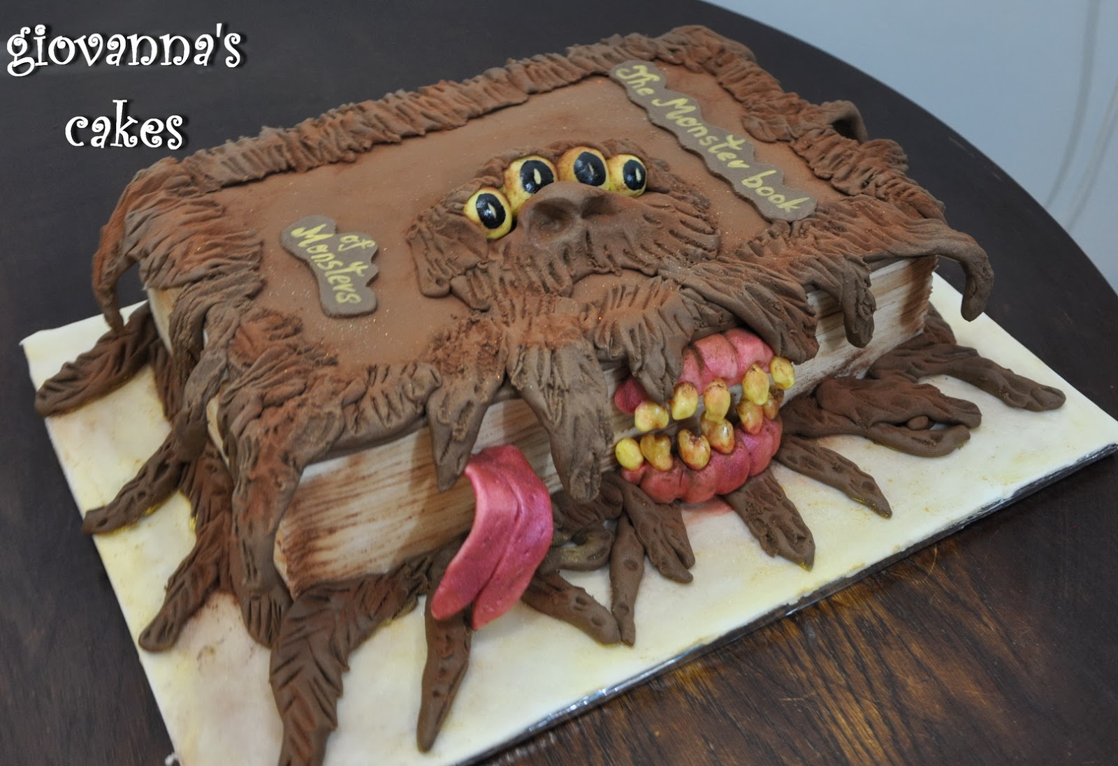 Monster Book Of Monsters Birthday Cake