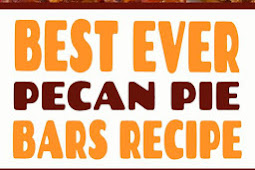 Best Ever Pecan Pie Bars Recipe #desserts #pecanpie #bars