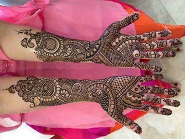 Rajasthani Bridal Mehndi Designs Pictures : Rajasthani mehendi designs for hands and feet mehandi