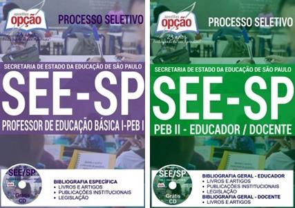 Apostila concurso SEE-SP 2017 - Professores de educação Básica