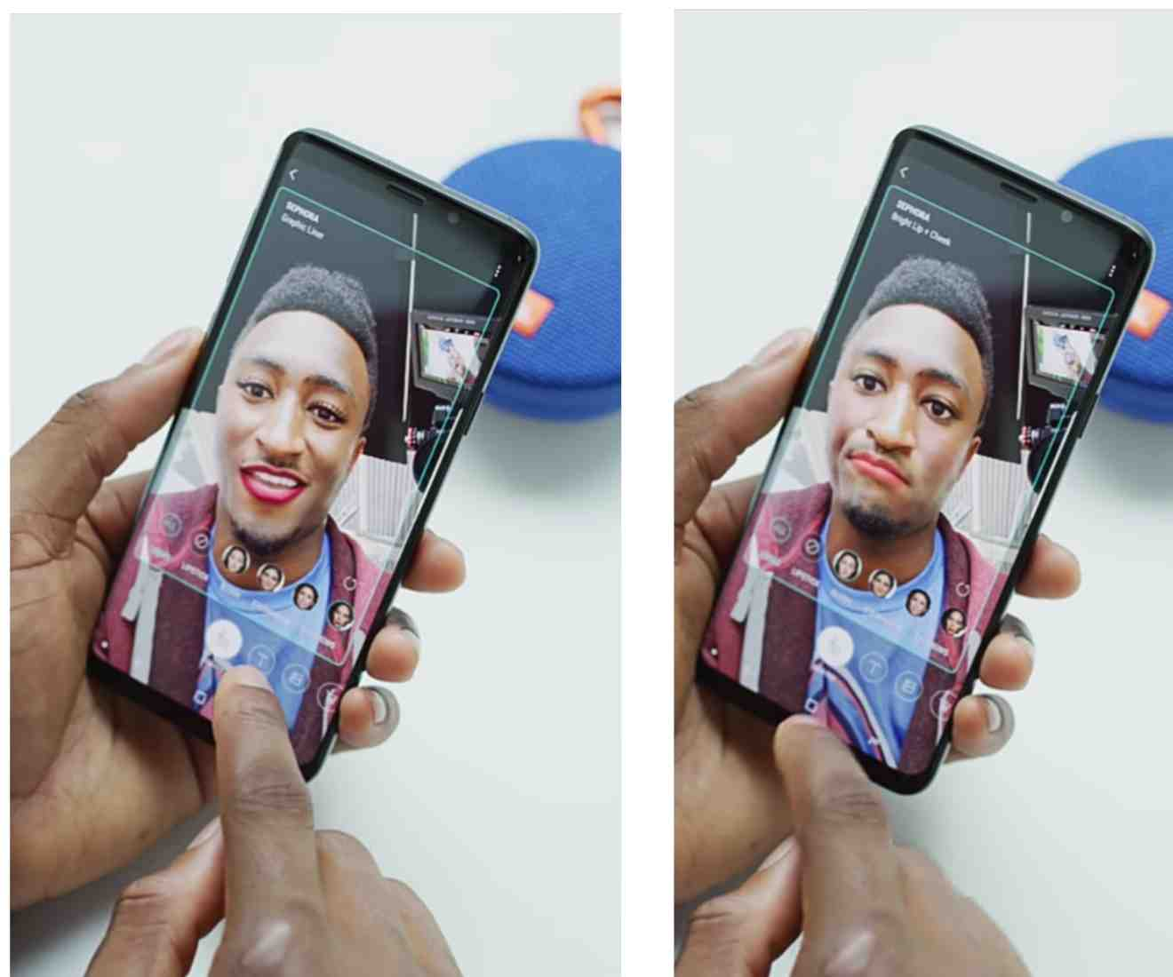The Samsung Galaxy S9 and S9 Plus Bixby Makeup