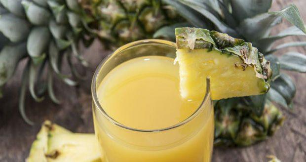 07 (sete) Benefícios do Suco de Abacaxi com Casca