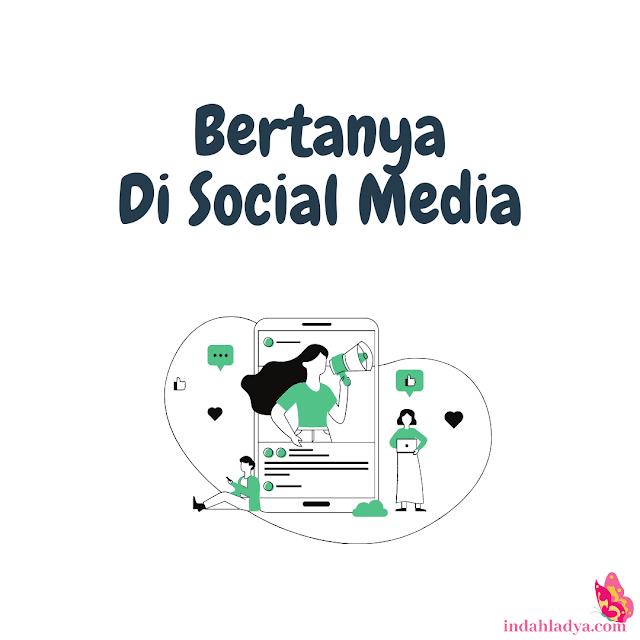 Bertanya di Social Media