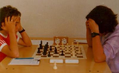 Partida de ajedrez Mònica Vilar - Daniel Travesset