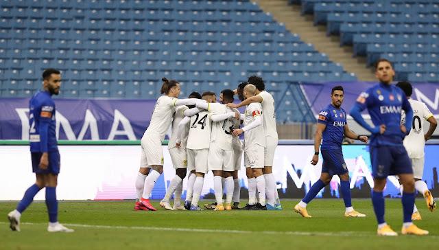 ملخص مباراة الهلال والإتحاد (1-1) اليوم في الدوري السعودي
