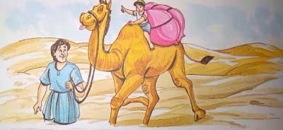 ऊँट व मनुष्य Amazing Hindi Moral Stories For Class 5th