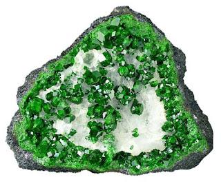 Uvarovita cristales gema | Foro de minerales