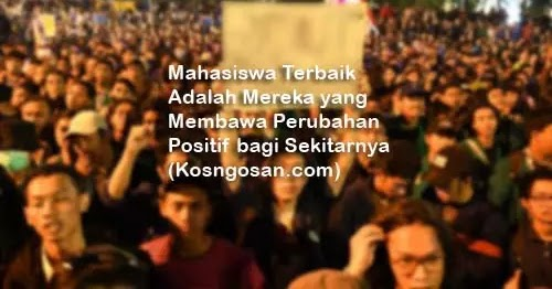 101 Kata Kata Mutiara Mahasiswa Aktivis Perjuangan Kosngosan