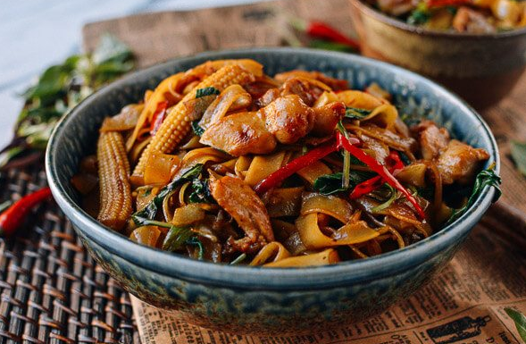 Drunken Noodles (Pad Kee Mao)