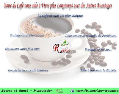 Boire du Café vous aide à Vivre plus Longtemps avec des Autres Avantages
