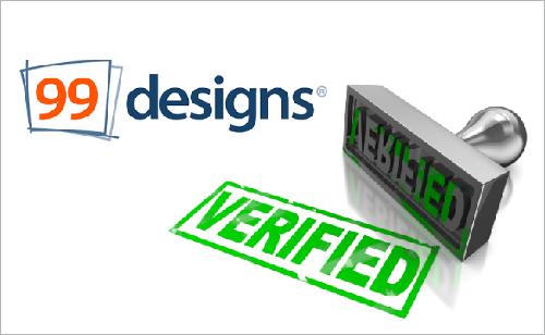 cara mudah dan cepat verifikasi akun 99designs sukses