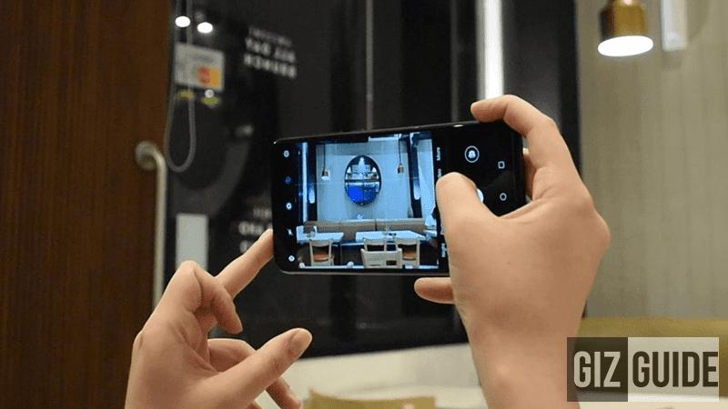 Honor 8X camera UI