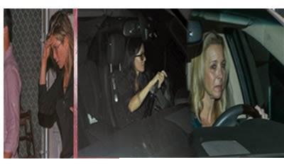 Estrellas de 'Friends' Jennifer Aniston, Courteney Cox, Lisa Kudrow reunidas cenando