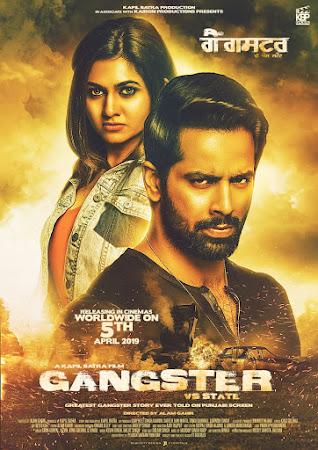 Poster Of Punjabi Movie Gangster vs State 2019 Full HD Movie Free Download 720P Watch Online