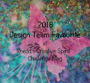 Rhedds Creative Spirit July 2018 Challenge
