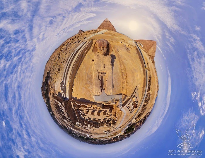 Worlds Wonder Great Pyramids of Giza in Egypt Panoramas Virtual Tour