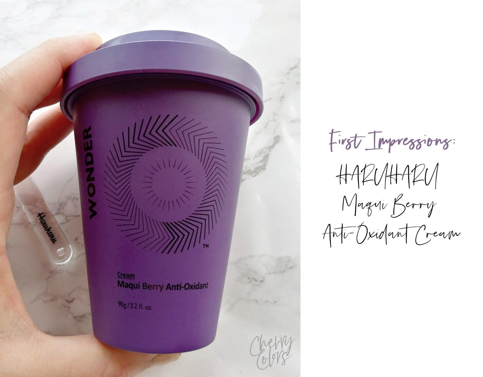 HARUHARU Wonder Berry Anti-Oxidant Cream