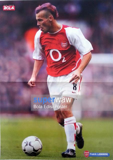 Poster Fredrik Ljungberg (Arsenal)