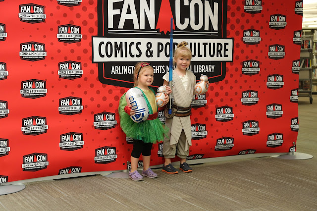 Comic and Pop Culture Fans Rejoice at FanCon! Image credit Arlington Heights Memorial Library