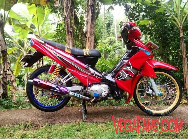 Vega ZR Modif Merah Thailook Simple