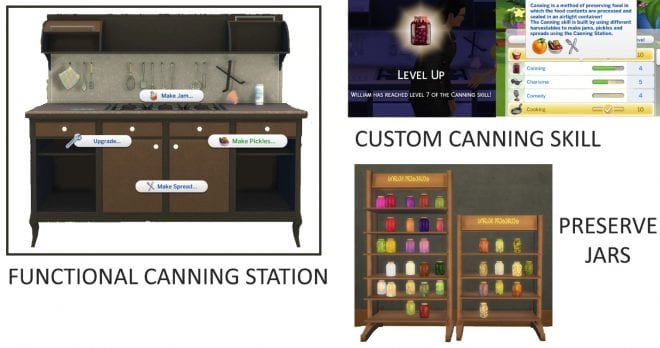 FUNCTIONAL CANNING STATION AND CUSTOM CANNING SKILL