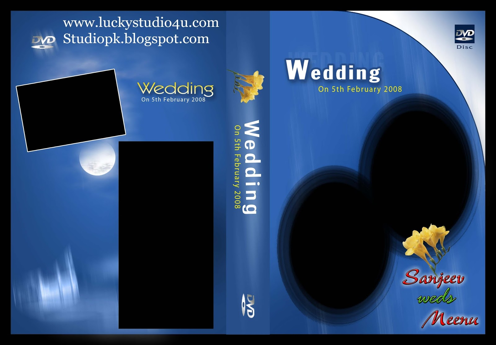 Wedding DVD Cover Psd Free Download - Psdfile4u