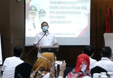 Hendi Upayakan Penuntasan Angka Melek Huruf di Kota Semarang