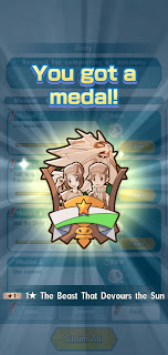 the beast that devours they sky medal