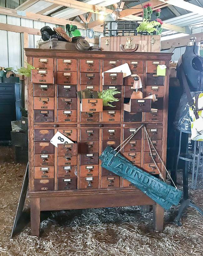 vintage card catalog, find your style