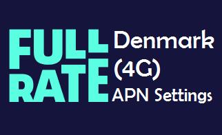 Fullrate APN Settings for Android