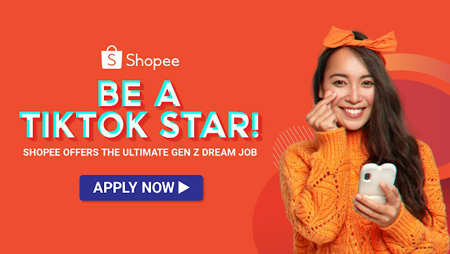 Shopee offers the Ultimate Gen Z Dream Job – be a TikTok Star!