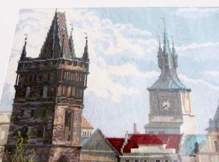 вышивка Прага